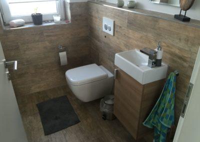 Gäste-WC, Baubetreuung